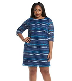 Jessica Howard® Plus Size Diamond Lace Dress
