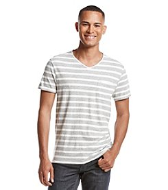 Calvin Klein Jeans® Men's Short Sleeve Striped V-Neck®