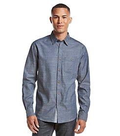 Ocean Current® Men's Graphic Long Sleeve Button Down Shirt