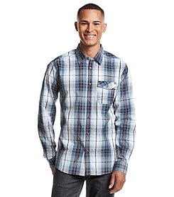 Ocean Current® Men's Submarine Plaid Long Sleeve Button Down Shirt