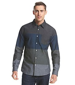 Ocean Current® Men's Vivaldi Colorblock Long Sleeve Button Down Shirt