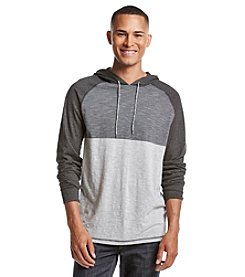 Ocean Current® Men's Tri-Color Long Sleeve Raglan Pullover Hoodie