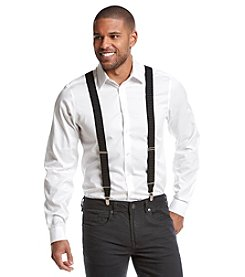 John Bartlett Statements Men's Pindot Stretch Suspenders