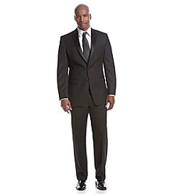 Calvin Klein Men's Black 2-Button Tuxedo Suit Separates