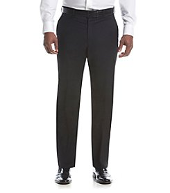 Lauren Ralph Lauren Men's Black Suit Separates Flat Front Pants
