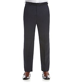 Lauren Ralph Lauren Men's Navy Suit Separates Flat Front Pants