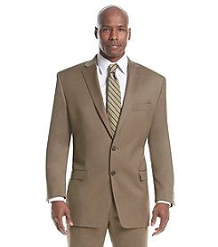 Lauren Ralph Lauren Men's Big & Tall Tan Solid Suit Separates Two-Button Jacket