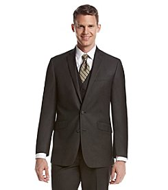 Kenneth Cole REACTION® Men's Charcoal Pin Dot Slim-Fit Suit Separates Jacket
