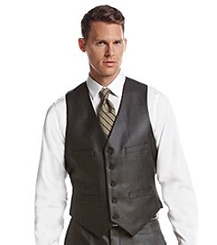 REACTION Kenneth Cole Men's Gray Sheen Vest
