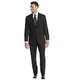 REACTION Kenneth Cole Men's Black Solid Suit Separates