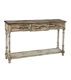 Pulaski Distressed 3-Drawer Console Table