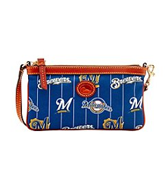 Dooney & Bourke® Mlb Brewers Large Slim Wristlet
