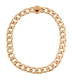 Kenneth Cole® Rose Goldtone Circle Necklace