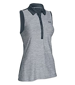 Under Armour® Zinger Blocked Golf Polo