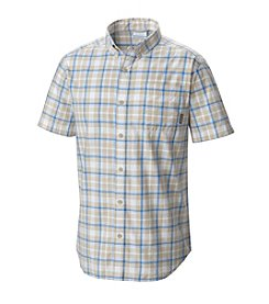 Columbia Men's Big & Tall Rapid Rivers Ii Short Sleeve Plaid Button Down Shirt