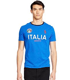 Polo Ralph Lauren® Men's Custom-Fit Italia Polo Shirt