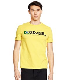 Polo Sport® Men's Custom-Fit Brasil Crew Neck Tee