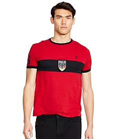 Polo Ralph Lauren® Men's Custom-Fit Germany Crew Neck Tee