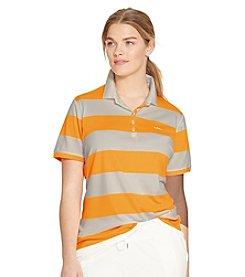 Lauren Ralph Lauren® Plus Size Striped Polo Shirt