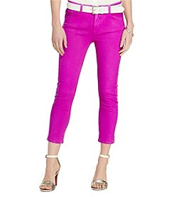 Lauren Jeans Co.® Petites' Premier Cropped Skinny Jeans