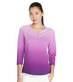 Lauren Active® Ombre Stretch-Cotton Shirt