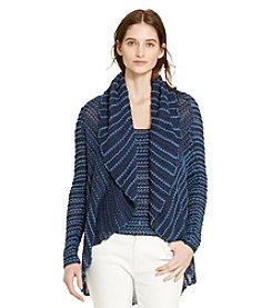 Lauren Jeans Co.® Cotton-Blend Shawl Cardigan