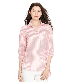 Lauren Ralph Lauren® Striped Linen Shirt