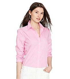 Lauren Ralph Lauren® Striped Cotton Shirt