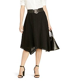 Lauren Ralph Lauren® Eyelet Cotton Skirt
