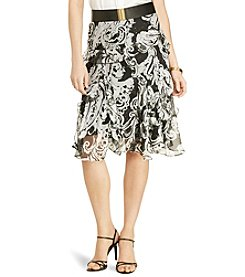 Lauren Ralph Lauren® Animal-Print Ruffled Skirt