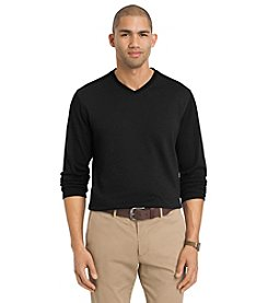Van Heusen® Men's Long Sleeve Striped Knit
