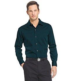 Van Heusen® Men's Long Sleeve Sateen Stripes Button Down Shirt