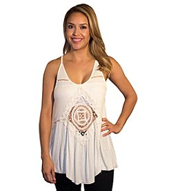 Skylar & Jade™ Applique Tank