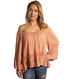 Skylar & Jade™ Off The Shoulder Peasant Top