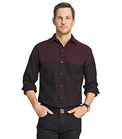 Van Heusen® Men's Night Engineers Long Sleeve Button Down Shirt