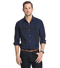 Van Heusen® Men's Night Engineer Long Sleeve Button Down Shirt
