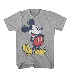 Mad Engine Men's Retro Mickey Short Sleeve Tee