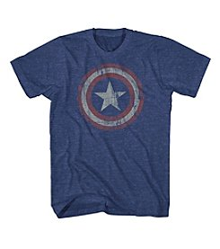 Mad Engine Men's Captain America Short Sleeve Tee