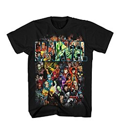 Mad Engine Men's Marvel Comics Group Shot Short Sleeve Tee