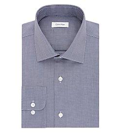 Calvin Klein Men's Riviera Houndstooth Long Sleeve Dress Shirt