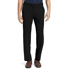 Van Heusen® Men's Relaxed Straight Fit Melange Flex Dress Pants