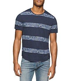 Calvin Klein Jeans® Men's Whirl Stripe Short Sleeve Tee