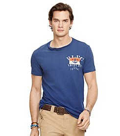 Polo Ralph Lauren® Men's Crew Neck Graphic T-Shirt