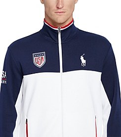 Polo Ralph Lauren® Men's USA Double-Knit Track Jacket