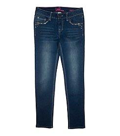 Lee® Girls' 7-16 Stud Embellished Skinny Jeans