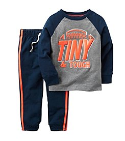 Carter's® Boys' 2T-4T 2-Piece Tiny & Tough Joggers Set