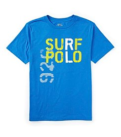 Ralph Lauren Childrenswear Boys' 8-20 Short Sleeve Surf Tee