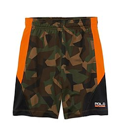 Ralph Lauren Childrenswear Boys' 8-20 Camo Active Shorts