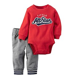 Carter's® Baby Boys 2-Piece All-Star Bodysuit And Pants Set