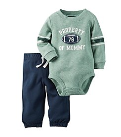 Carter's® Baby Boys 2-Piece Football Bodysuit And Pants Set